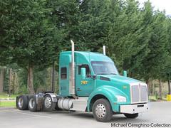 TWT 4 axle Kenworth T880, Truck# 191 (Michael Cereghino (Avsfan118)) Tags: twt refrigerated service kenworth kw t880 t 880 4 axle quad semi trucking heavy haul tractor bobtail