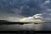Looking into water (Joseph@Oz) Tags: dramaticclouds sydney australia botanybay laperouse clouds water