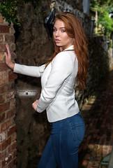 Tawny (Stunnaful-Photography) Tags: stunnafulphotos stunnaful art fashion woman girl outdoors photography redhead babe jeans white blue