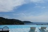 Take a rest. (natureflower) Tags: phuket thailand sea sky rest happytime blue mountains clouds deckchair pool andaman