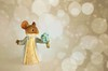A Magical Moment ✨ (Through Serena's Lens) Tags: 7dwf stilllife closeup figurine mice miniature magicalmoment bokeh cute adorable small forgetmenot