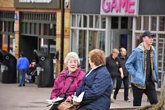 The Generation Game (Bury Gardener) Tags: streetphotography street streetcandids candid candids people peoplewatching folks strangers burystedmunds suffolk england english eastanglia uk british britain 2018 cornhill