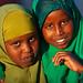 Portrait of somali girls, Woqooyi Galbeed region, Hargeisa, Somaliland