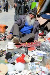 For sale (Chris Brady 737) Tags: hamadan iran street man vendor market