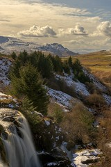 Loup of Fintry (MilesGrayPhotography (AnimalsBeforeHumans)) Tags: 10stopper a7ii britain europe fe f4 falls fintry loupoffintry glow golden haze iconic ilce7m2 landscape lens longexposure landscapephotography mountains nd nd1000 nd30 outdoors oss photography photo portrait tranquil rocks river riverendrick rural scotland sky scenic sunshine clouds scottish scottishlandscapephotography sonya7ii sony sonyflickraward snow trees uk unitedkingdom spring waterscape water 2870 sonyfe2870mmf3556oss