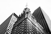 Time Capsule (westdoorx) Tags: chicago symmetry building loop blackandwhite black white geometric infrastructure bw blackwhite 50mm sony zeiss a7rii downtown