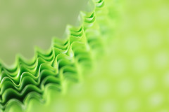 99/365: Going dotty... (judi may) Tags: 365the2018edition 3652018 day99365 09apr18 april2018amonthin30pictures macromonday macro macromondays circles cakecases cupcakecases green dots dotty spots spotty wavy waves pattern bokeh depthoffield dof blur soft softness abstract abstraction canon7d