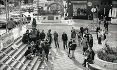 15/52 Gente (Art.Mary) Tags: granada españa spain espagne canon 52semanas mononchrome monocromo bn nb bw people personnes andalucía