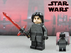 Custom LEGO Star Wars The Last Jedi: Kylo Ren (Will HR) Tags: lego starwars thelastjedi kyloren custom