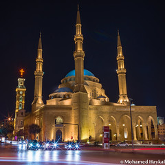 Mohammad Al-Amin Mosque (Mohamed Haykal) Tags: beirut beirutgovernorate lebanon lb hasselblad x1d xcd 30 mohamed haykal mohammad alamin mosque downtown church