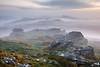 A Hazed View (www.neilporterphotography.com) Tags: rippon tor dartmoor fog mist haze sunrise bluehour moody atmospheric