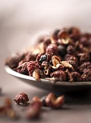 teaspoon of spice... (..Ania.) Tags: macro condiment spice sichuanpeppercorns macromondays canon100mm