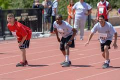 20180414-LASGV-APURegional-ESGV-100-Start-JDS_0572 (Special Olympics Southern California) Tags: athletics azusapacific hot losangelesregion sangabrielvalleyregion saturday specialolympics specialolympicssoutherncalifornia springregionalgames sun trackandfield