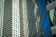 Chicago Reflections (Robert Borden) Tags: reflection chicago chitown windycity chicagoland urban city glass 50mm fuji fujifilm fujiphoto fujifoto fujixt2 fujifilmxt2 illinois usa northamerica