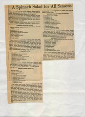 scan0133 (Eudaemonius) Tags: ls0028 the queens silver jubilee 19521977 souvenir cuttings book collection raw 20180722 eudaemonius clippings recipes newspaper recipe cooking cookbook cook estate sale find bluemarblebounty