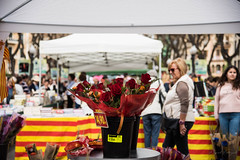 Diada de Sant Jordi (rfabregatmoliner) Tags: santjordi tarragona ramblanova tradició cultura tradition culture people street nikon nikond750 d750 nikkor book rose roses