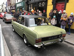 Saint Patrick's Day Parade - March 17, 2018 - Ennis, Ireland (firehouse.ie) Tags: automobile l'auto vehicule vehicle vintage mark2 fordcortina ford cortina clare classic coches coche cars car