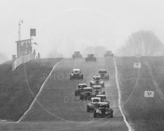 UK National Legends Championship (MPH94) Tags: oulton park cheshire barc north west msv british automobile racing club auto car cars race motorracing sport motorsport motor uk national legends championship black white monochrome snow snowing