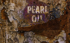 Pearlessence (Junkstock) Tags: aged artifact abstract abstraction artifacts arizona bard color corrosion corroded craquelure decay decayed distressed graphics graphic gasstation machinery machine old oldstuff oldandbeautiful paint peelingpaint relic rust rusty rusted rustyandcrusty textures texture typography type text vintage weathered