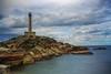 Cabo de Palos. Murcia (alcahazada) Tags: marmenor paisaje mar faro marina nubes cielo agua sea lighthouse sky water rocks landscape outdoors nature naturaleza airelibre clouds