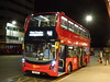 London's First 18 Plate Bus (londonbusexplorer) Tags: goahead london adl enviro 400 mmc hybrid e40h eh220 yx18kpk x68 russell square west croydon 18 reg tfl buses express limited stop