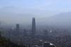 Morning Smog.  Santiago de Chile (kcezary) Tags: santiago chile ef50mmf18stm canon grantorresantiago путешествия city город центр