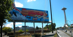 Aurora Avenue Billboard, 2004