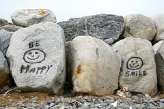 NS-00037 - Be Happy & Smile (archer10 (Dennis) 160M Views) Tags: fishing harbour boatssony a6300 ilce6300 village 18200mm 1650mm mirrorless free freepicture archer10 dennis jarvis dennisgjarvis dennisjarvis iamcanadian novascotia canada clarksharbour capesableisland bolders behappy smile