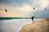 Surfers Paradise (Neelima Muneef) Tags: surfers kite paragliding beach sea seascape uae dubai