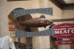 07APR2018-SF-Pier39-IMG_3798 (aaron_anderer) Tags: brass sign fish sf sfbay bayarea sanfrancisco fishermanswharf pier39 pier 39 2018 california ferrybuilding market ferry terminal boat