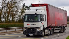 MX66 EGK (Martin's Online Photography) Tags: renault seriest truck wagon lorry vehicle fh4 haulage commercial transport a580 leigh lancashire nikon nikond7200
