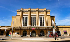 Façade principale de la Gare de Belfort-ville (-Polo-) Tags: railway gare france belfort train city architecture urbanism