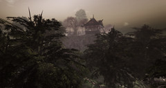 Asian Isle (exploring) (ღ ♠ Aegir ♠ ღ) Tags: secondlife sl blog blogger travel explore slurl asian asia isle moon shine china taiwan hongkong japan chinese japanese korea korean vietnam thai malaysia singapore sandbox style landscape trees buildings sky gloom sunset sunrise mist