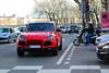 Porsche Cayenne TURBO [1ère génération] - Lyon mars 2018 (FerrariBOOK) Tags: porsche cayenne turbo v8 quai quaisaône saône rhônealpes lyon rue street red rosso rouge