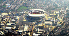Wembley Stadium. London (M McBey) Tags: wembley stadium london football city aerial