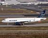F-WWDH Airbus A320 Mexicana (@Eurospot) Tags: xamxl fwwdh mexicana airbus a320 toulouse blagnac
