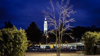 Night Liège landscape - 4720