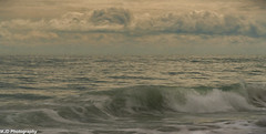 Waves and Clouds (mjdrhd) Tags: waves clouds ocean beach shoreline nature outerbanks
