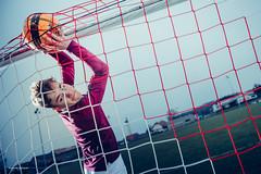 ... GOOOOOOOOOOAAALLLLL ! (Sam' place) Tags: 2018 ball boy dirt football grass portrait profoto profotob1 soccer outdoor