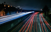 mission terrace bypass (pbo31) Tags: bayarea california nikon d810 color march 2018 boury pbo31 urban sanfrancisco city over lightstream motion night dark black traffic roadway 280 highway overpass sunnyside missionterrace