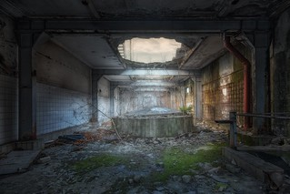 Feierabend - abandoned slaughterhouse
