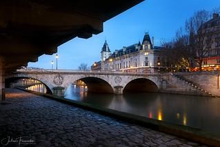 Pont Saint-Michel & Quai des Orfèvres