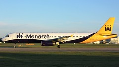 G-OZBU (AnDyMHoLdEn) Tags: monarch a321 egcc airport manchester manchesterairport 23l