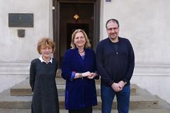 Karin Kneissl besucht das Museum der Stadt Belgrad