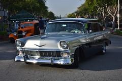 22nd Annual La Verne Cool Cruise (USautos98) Tags: 1956 chevrolet chevy 210 wagon hotrod streetrod custom