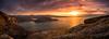 Diabaig (GenerationX) Tags: applecrosspeninsula araid arincrinachd arrina barr canon6d fearnbeg fearnmore highlands isleofskye kenmore lochdiabaig lochshieldaig lochtorridon lochachracaich lowerdiabaig neil rona ronaigh rubhanahàirde scotland scottish westerross clouds dusk evening gloaming harbour islands lake landscape mountains panorama pier rays sea sky sunset water torridon unitedkingdom gb