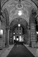 Budapest Opera (Valantis Antoniades) Tags: hungarian state opera house hungary budapest monochrome black white blackandwhite