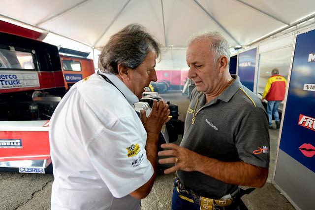 Amadeu Rodrigues e Renato Martins - Foto: Duda Bairros/Copa Truck
