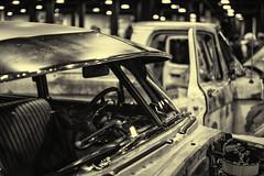 Detail--1949 Chevy (PAJ880) Tags: 1949 chevy chevrolet detail worldofwheels boston ma bw mono general motors visor auto show