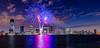 Jersey City Fireworks 4 (tuhindas1989) Tags: fireworks independanceday usaindependanceday cityscape cityskyline longexposure sky clouds 4thjulyfireworks jerseycity nj newjersey hudson fireworksreflection highrise cityandfireworks jerseycityfireworks travel travelphotography